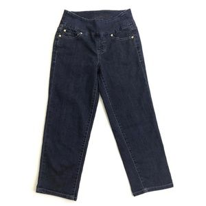 "JAG Jeans Pull-on Jeans ""Peri Straight Crop"""